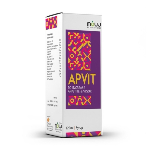 Apvit Syrup for Healthy Growth, Development and Wellness  sachet.pk